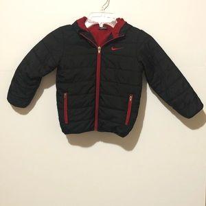 Boys Nike Puffer/Rain Jacket with hood